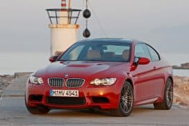 BMW E92 M3 Melbourne Red Metallic