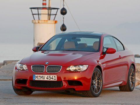 BMW E92 M3 Melbourne Red Metallic