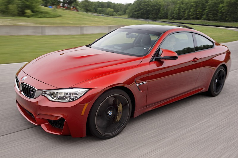 BMW M4 Sakhir Orange Metallic