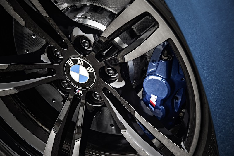 BMW M compound brakes
