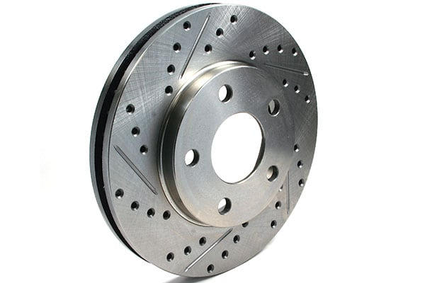 slotted cross drilled rotors