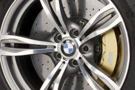 BMW M carbon ceramic brakes