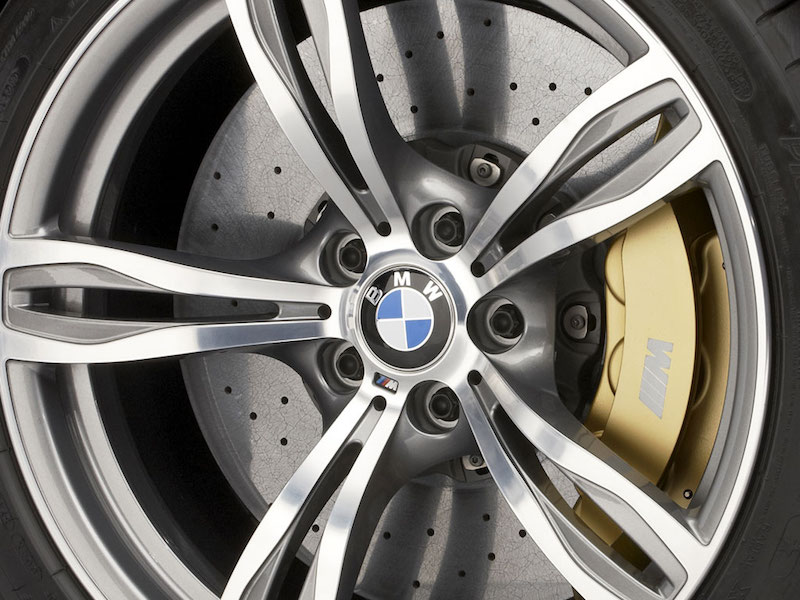 BMW M carbon ceramic brakes