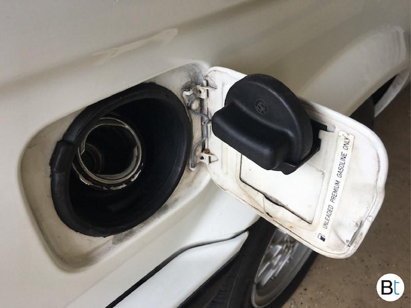 BMW E30 fuel cap holder