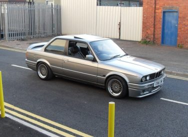BMW E30 Salmon Silver 203