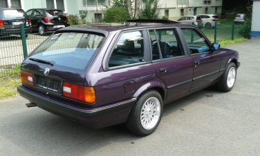 BMW E30 Daytona Violet Metallic 283