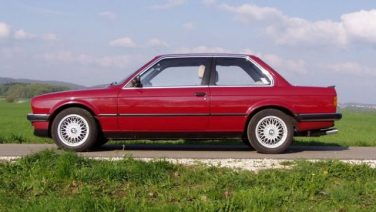 BMW E30 Karmin Red 172