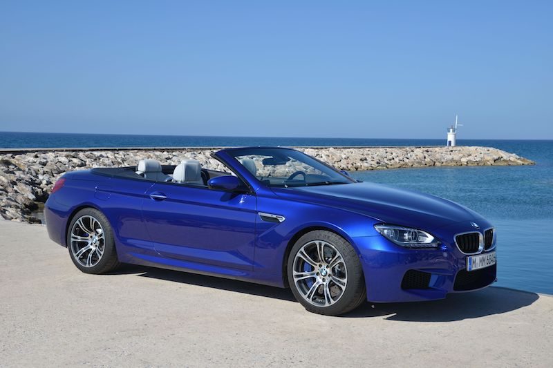 BMW F12 M6 Cabrio Tanzanite Metallic