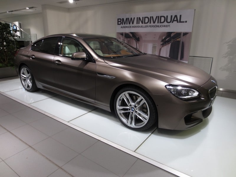 BMW M6 F06 Gran Coupe Frozen Bronze Metallic