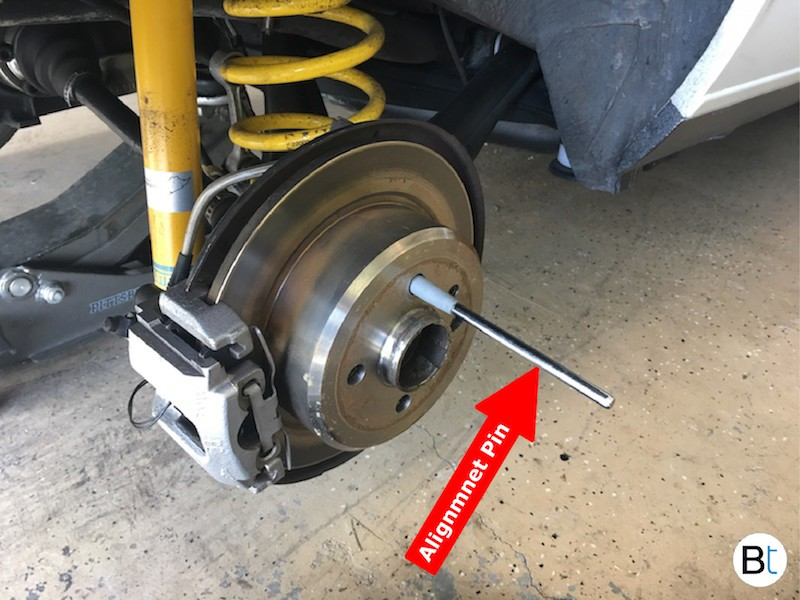 BMW Wheel alignment pin E30