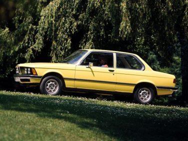 BMW E21 Golf Yellow