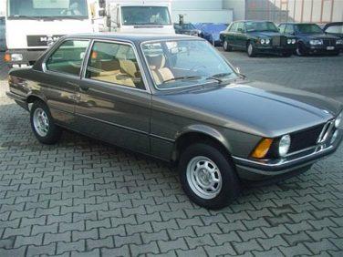 BMW E21 anthracite gray