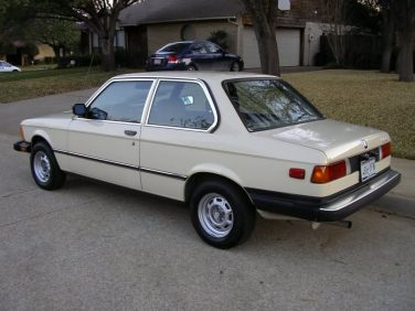 BMW E21 Sahara Beige