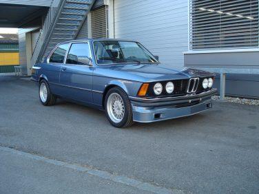 BMW E21 Sapphire Blue Metallic