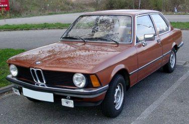 BMW E21 Sienna Brown