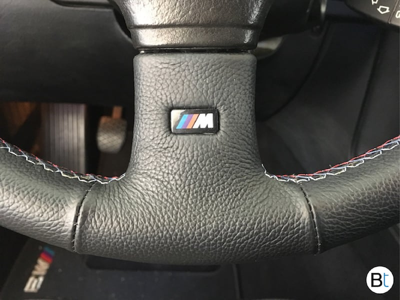 BMW Sport Steering wheel M badge emblem replacement