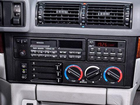 E34 heater controls