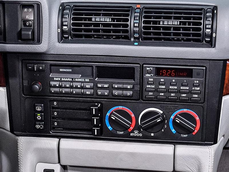 Bmw E30 E34 Windshield Defrost Configuration Settings