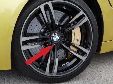 BMW M Wheel Emblem replacement