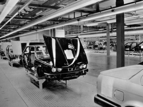 1987 BMW E30 manufacturing