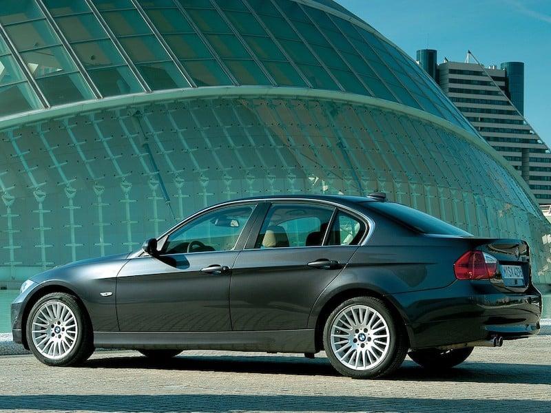BMW E90 sedan graphite