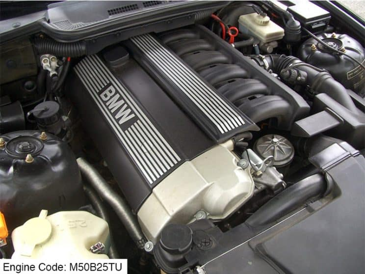 BMW M50B25TU engine code meaning