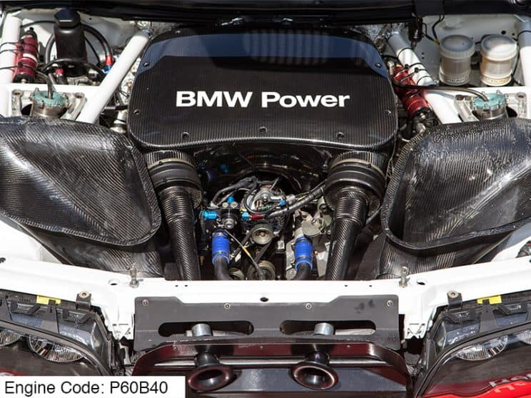 BMW P60B40 engine code meaning