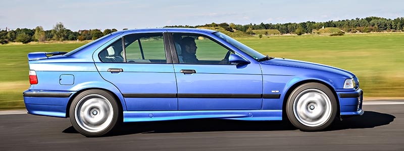 BMW E36 M3 Sedan Estoril Blue VIN Decode