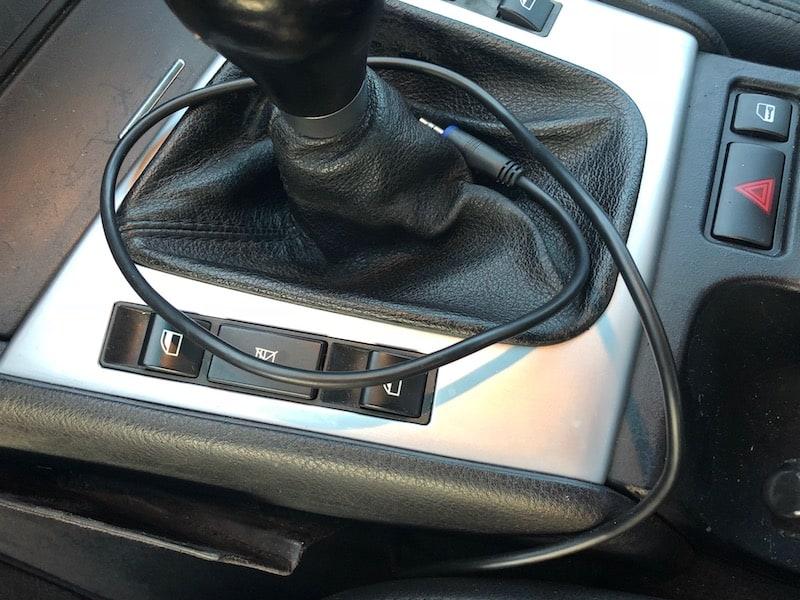 BMW E46 aux cord OEM radio retrofit kit