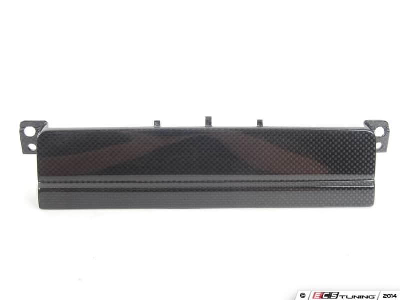 BMW E46 M3 CSL radio delete panel blanking plate