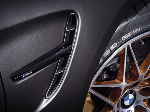 BMW M4 GTS fender vents