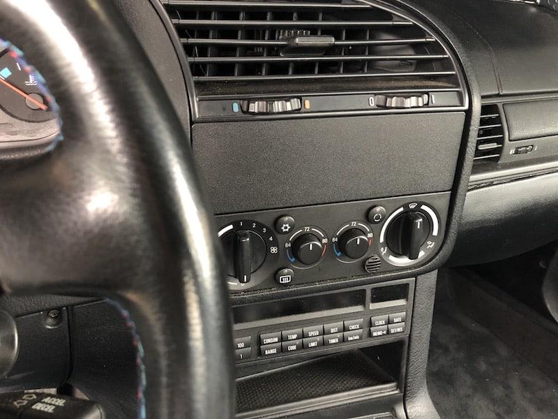 BMW E36 E34 Z3 radio delete blanking plate