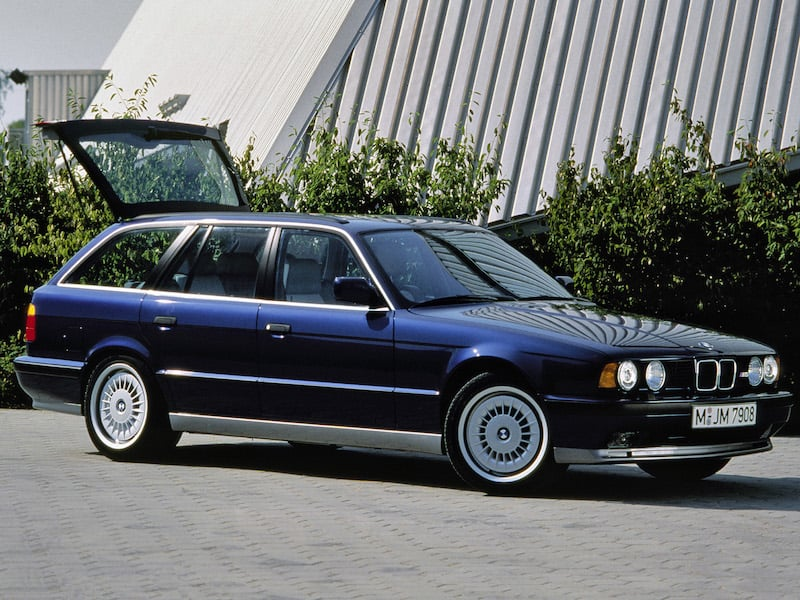BMW E34 M5 Touring Turbines Style 20