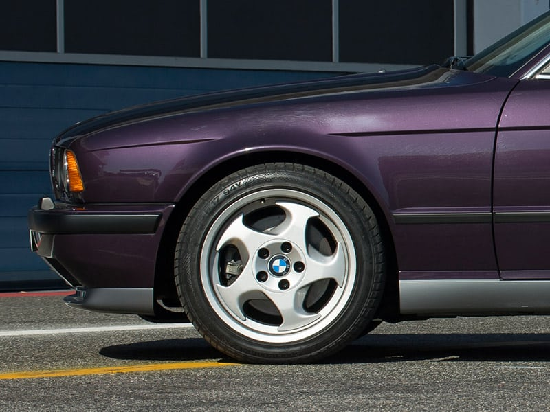 Oem Bmw E34 M5 Wheel Options  Specs