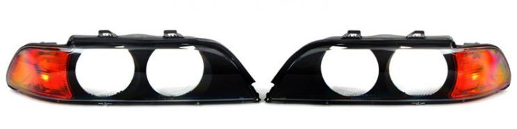 BMW E39 headlight lens