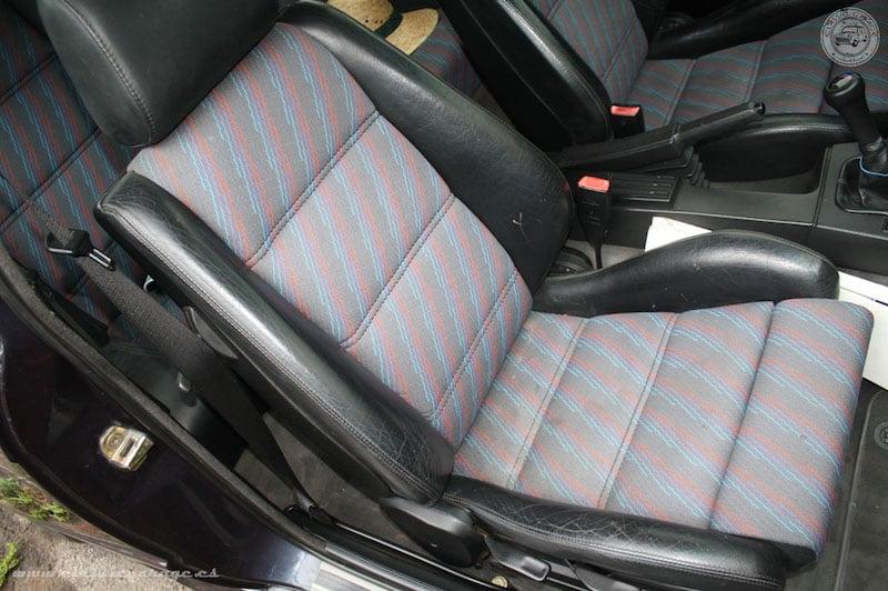 BMW E30 M3 Cecotto interior