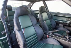 BMW E36 M3 GT green interior