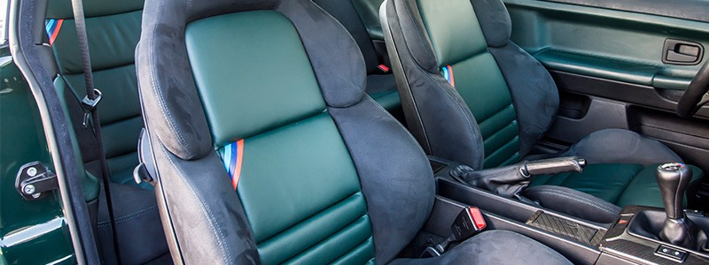 BMW E36 M3 interior upholstery options