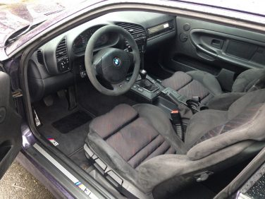 BMW e 36 m3 mrain cloth interior