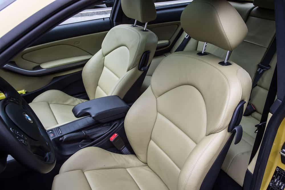 BMW e46 m3 kiwi interior