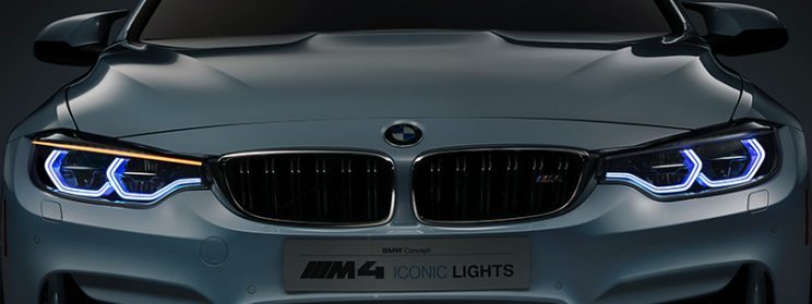 BMW m4 laserlight headlight