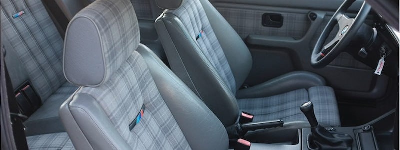 BMW E30 M3 Interior Upholstery options