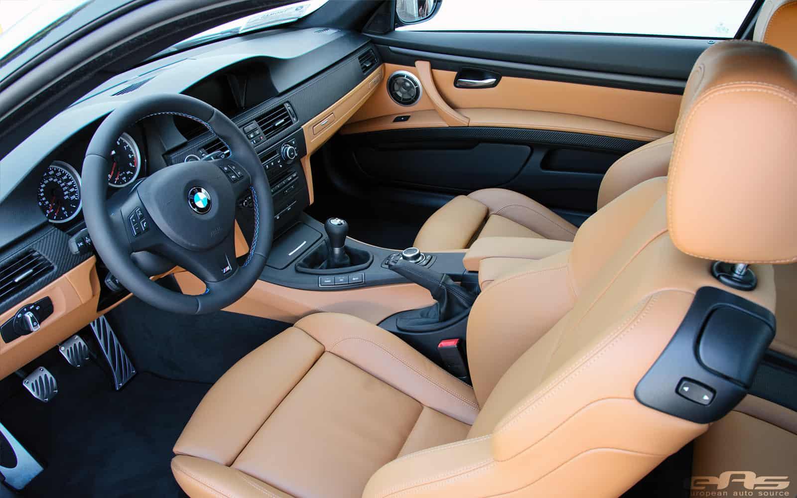 bmw e92 m3 rust brown interior