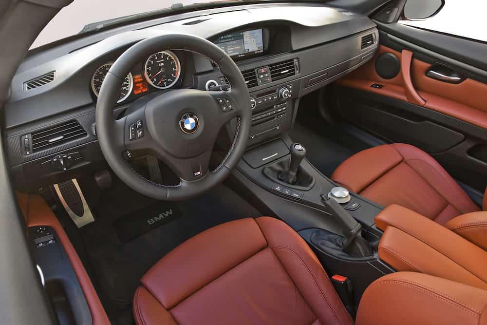 bmw e92 m3 fox red interior