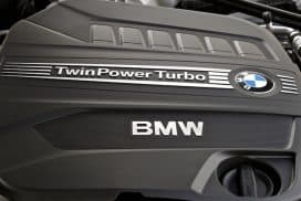 BMW twinpower twin scroll turbo