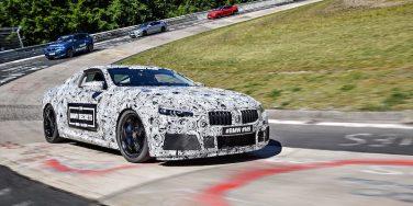 BMW m8 testing