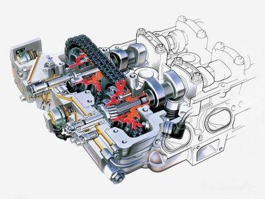 BMW vanos system