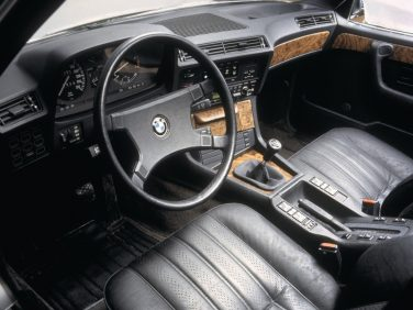 BMW e23 7 series interior