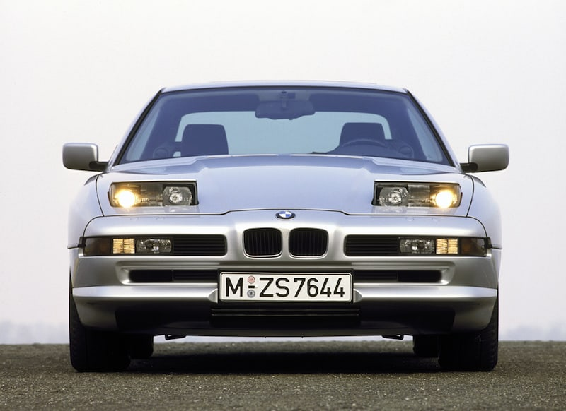 bmw e31 8 series front view