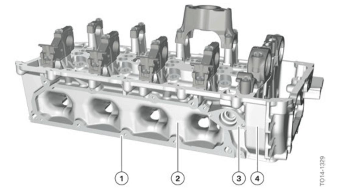 bmw n63tu cylinder head